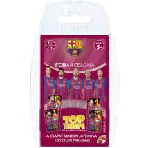 FC Barcelona Top Trumps kártyajáték