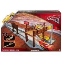 Verdák 3 mozis helyszínek játékszett - Fireball Beach Run