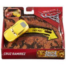 Verdák 3 Crazy 8 versenyautók - Cruz Ramirez