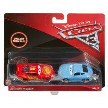 Verdák 3 karakter kisautók (2-es csomag) - Lightning McQueen & Sally