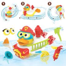 Yookidoo fürdőjáték - Építsünk tűzoltóautót!