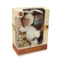 Anne Geddes babák - Fehér nyuszi (23 cm)