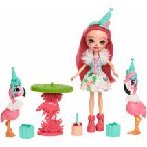 Enchantimals - Flamingó móka szett