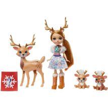 Enchantimals - Rainey Reindeer és szarvascsaládja