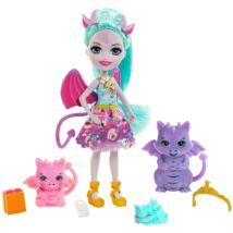 Enchantimals - Deanna Dragon és a sárkánycsalád