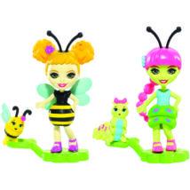 Enchantimals Petal Park bogárbarátok (Beetrice Bee & Cay Caterpillar)