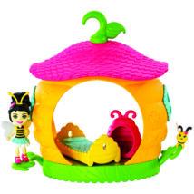 Enchantimals Petal Park házikói játékszett (Beetrice Bee)