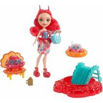Enchantimals Cameo Crab baba strandfelszereléssel és tarisznyarákokkal