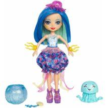 Enchantimals Jessa Jellyfish baba medúzával és akváriummal