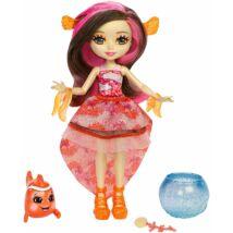 Enchantimals Clarita Clownfish baba bohóchallal és akváriummal