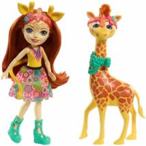 Enchantimals Gillian Giraffe baba zsiráffal