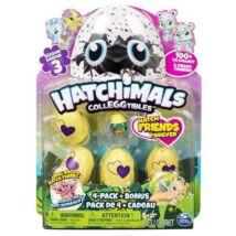 Hatchimals: 4 darabos készlet dobozban bónusz figurával - 3. széria