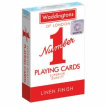 Waddingtons #1 Piros franciakártya