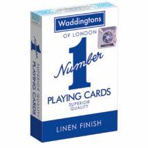 Waddingtons #1 Kék franciakártya