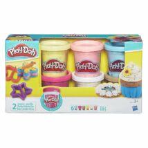 Play-Doh 6 db-os Konfenttis gyurmakészlet