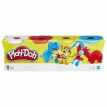 Play-Doh Klasszikus Színek  (4 db, fehér-piros-sárga-világoskék)