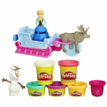 Play-Doh Jégvarázs Havas Szánkó Kaland