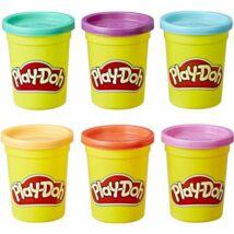 Play-Doh 6-Os Csomag (Világos Színek)