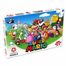 Super Mario és barátai puzzle (500 db)