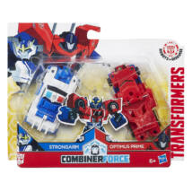 Transformers Robots in Disguise Combiner Force (Strongarm & Optimus Prime)