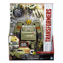 Transformers Knight Armor Turbo Changer (Autobot Hound)