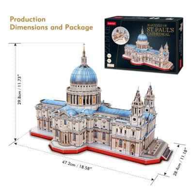 3D puzzle Szent Pá katedrális