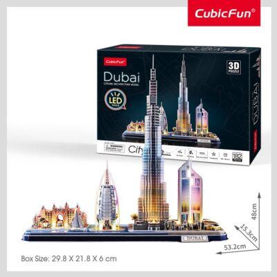 3D puzzle City Line Dubai