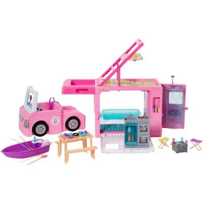Barbie luxus lakóautó