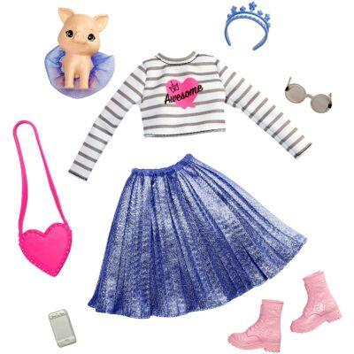 Barbie Princess Adventure - Divatcsomag kiskedvenccel (GML64)