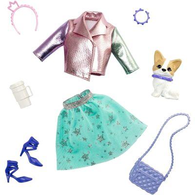 Barbie Princess Adventure - Divatcsomag kiskedvenccel (GML65)