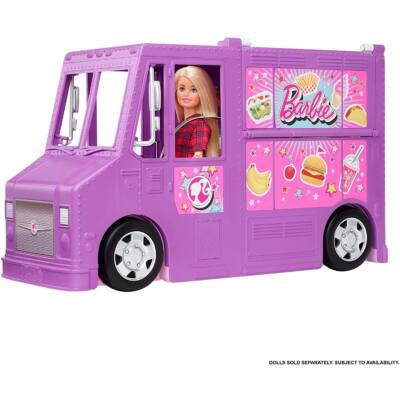 Barbie Street Food kocsi