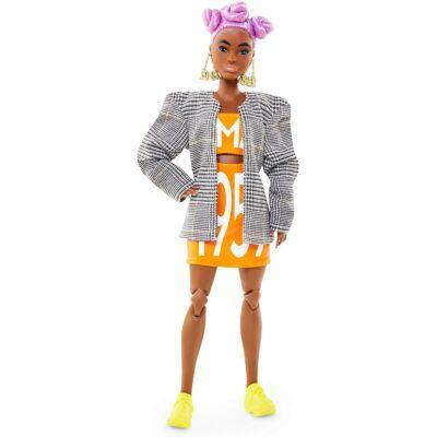 BMR1959 - Barbie retro divatbaba kockás zakóban
