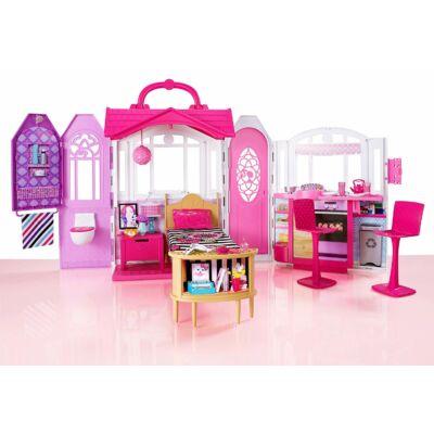 Barbie szétnyitható / összecsukható ház