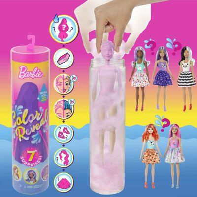 Barbie Color Reveal Meglepetés baba 1. sorozat