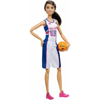 Sportoló Barbie babák (kosaras)
