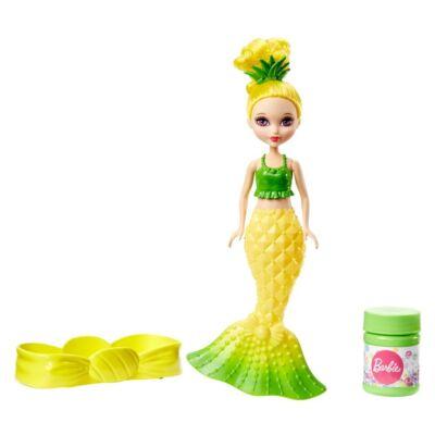 Barbie Dreamtopia buborékfújó mini sellő (citromsárga)