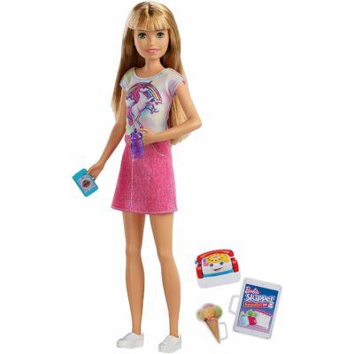 Barbie bébiszitter baba (D)