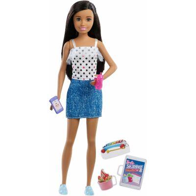 Barbie bébiszitter baba (E)