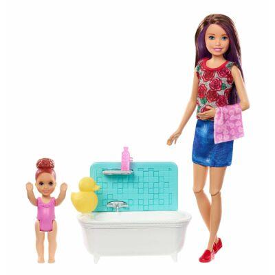 Barbie bébiszitter játékszett (E)