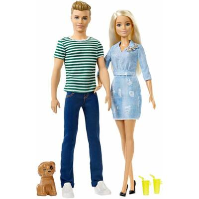 Barbie és Ken kutyussal