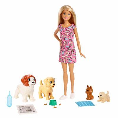 Barbie kutyusos napközi játékszett