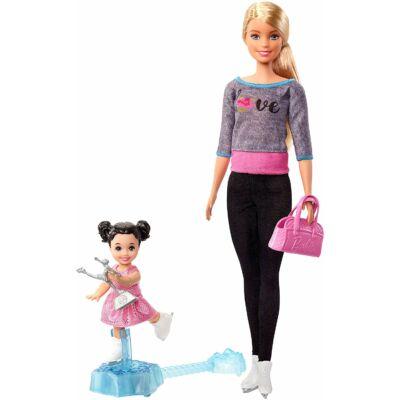 Barbie edző karrier játékszett (korcsolyázó)