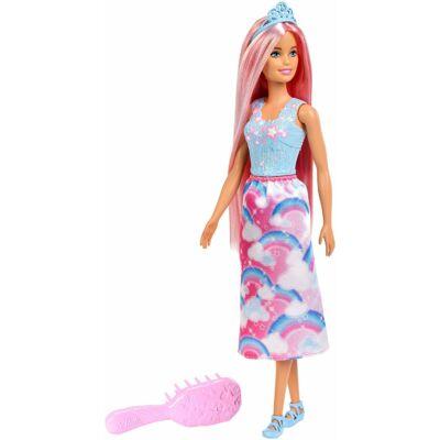 Barbie Dreamtopia varázslatos hercegnő fésűvel
