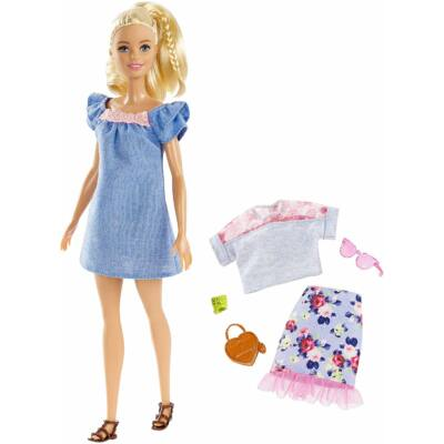 Barbie Fashionista baba ruhával (FRY79)