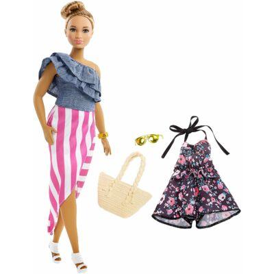 Barbie Fashionista baba ruhával (FRY82)