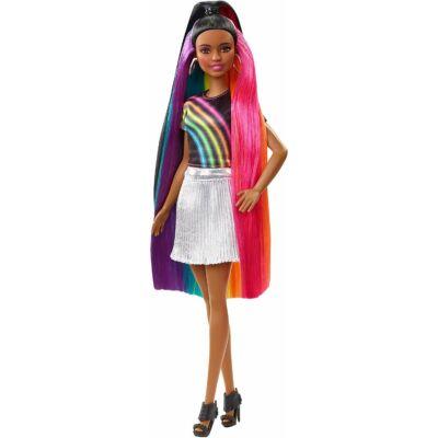 Barbie szivárványhaj baba