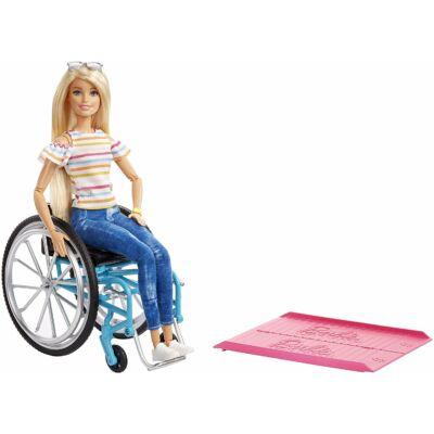 Barbie kerekesszékes baba