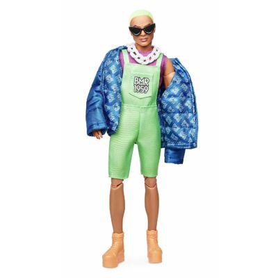 BMR1959 - Ken retro divatbaba zöld hajjal