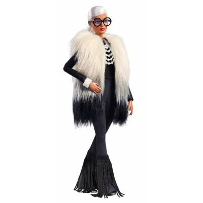 Iris Apfel tervezte Barbie (A)