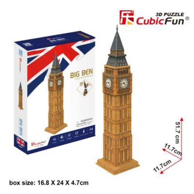 3D puzzle Big Ben (47 db-os)